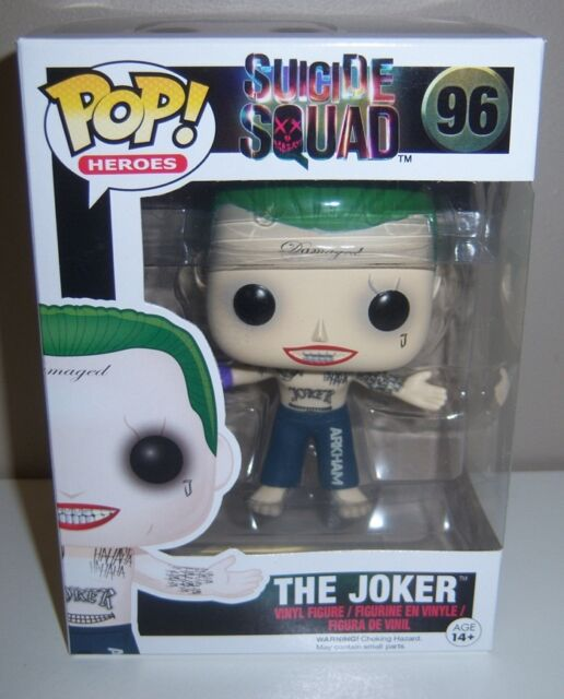 FUNKO POP Heroes Suicide Squad The Joker #96 Vinyl Figure 3.5