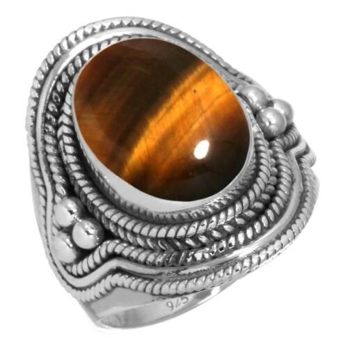 925 Sterling Silver Gemstone Ring Women Jewelry Size 5 6 7 8 9 10 11 12 13 Cw190