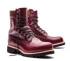 Details about Timberland Made In The Usa 8 inch Premium Waterproof Boots Men Burgundy A1JXM