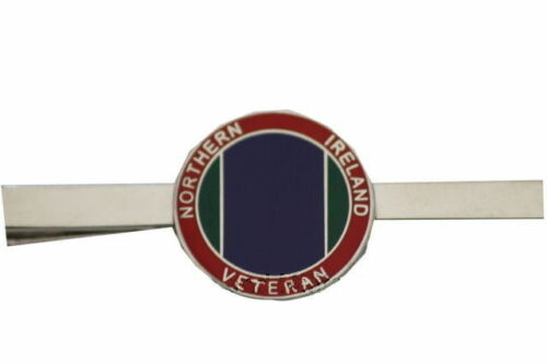 Northern Ireland Veteran Regimental Military Tie Clip Slide