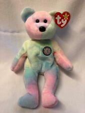 TY Beanie Babies 40826 Celebration Happy Birthday Bear for sale ... 56cc46bef5c0