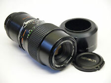Minolta MC Rokkor 100mm F3.5 Macro Lens with 1:1 life size converter sn.U4622