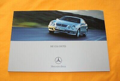 MERCEDES CLK Coupé Master Edition PROSPEKT 8//01 brochure 2001 auto prospetto auto