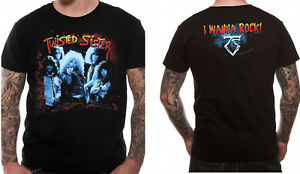 Official-Twisted-Sister-I-wanna-Rock-T-Shirt-We-039-re-Not-Gonna-Take-It-NEW-S-M-L