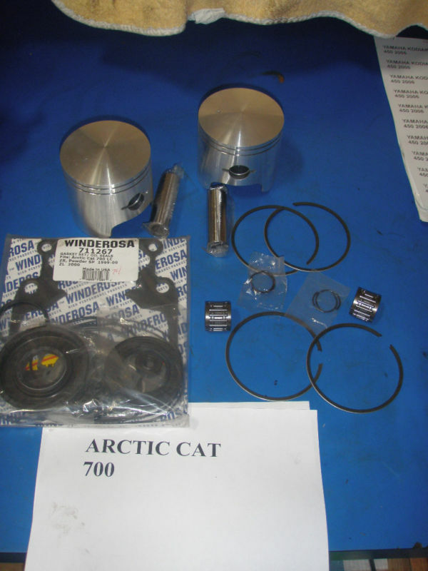 CAT Arctic Wildcats   ZR   polvo 700 kits de restauración