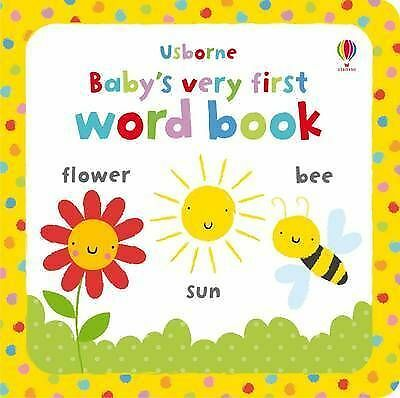 Baby's Very First Word Book by Usborne Publishing Ltd (Board book, 2010)