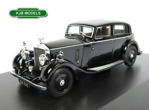 BNIB-O-GAUGE-OXFORD-1-43-43R25003-ROLLS-ROYCE-25-30-THRUPP-amp-MABERLY-BLACK