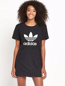 Adidas Originals 12 W Trébol Negro Nuevo Camiseta Tamaño del vestido UK UK 12 Nuevo (650 a08b419 - hotlink.pw