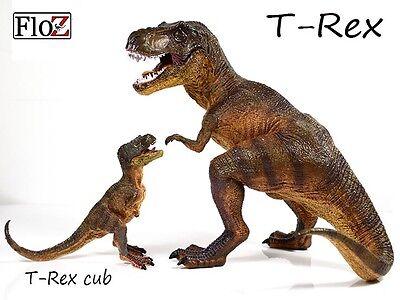 "Tyrannosaurus T-rex Dinosaurs Model prehistoric Figure Toy 12"" FloZ Collectible"