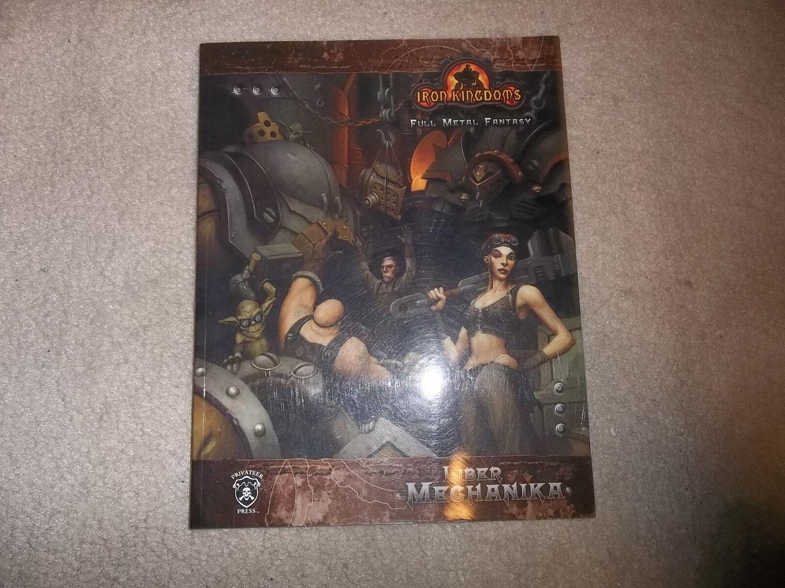 Iron Kingdoms RPG 1st Ed Liber Mechanika