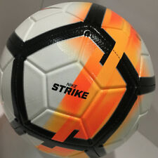 nike pitch soccer ball orange blue white sc2623 838 size 5 ebay