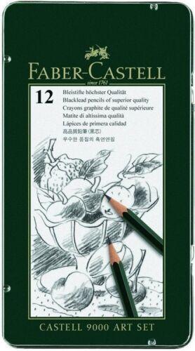 Bleistift Faber-Castell Stifte Zeichnen Skizzieren Malen 8B 2H Wasserbasis Dose