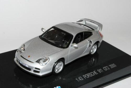 Porsche 911 996 GT2 Coupe Silber 1997-2006 1//43 Modellcarsonline Modell Auto m..