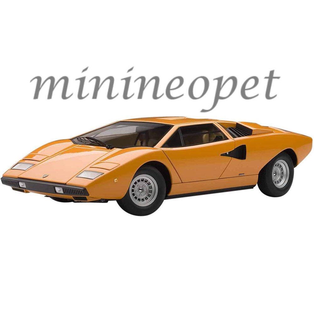 AUTOART 74647 LAMBORGHINI COUNTACH LP400 1 18 Voiture Modèle Orange
