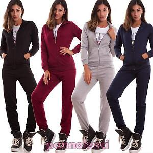 official photos 4cb01 a4d5b Dettagli su Tuta donna completo tre pezzi pantaloni felpa maglia t-shirt  cotone nuova TK-77