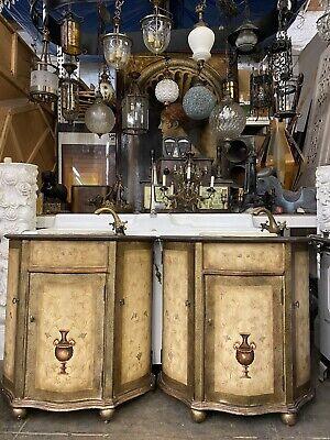 Seven Seas His And Hers Bathroom Vanities By Hooker 33x35x16 Ebay