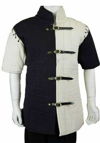 Thick-padded-Gambeson-role-play-movies-drama-theater-Medieval-armor BB333]'