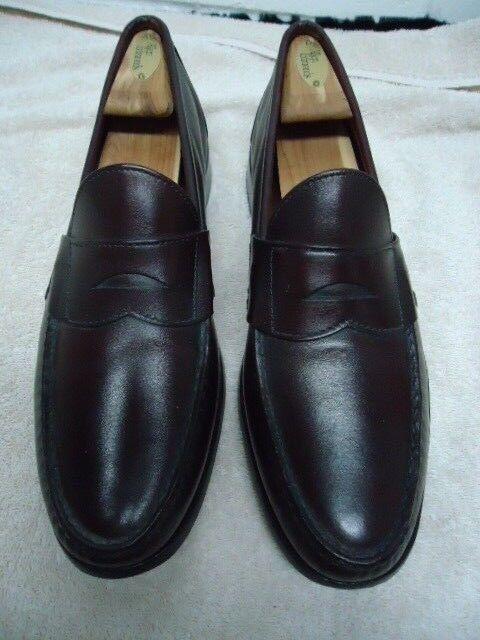 Allen Burgundy Edmonds  Paxton Burgundy Allen Penny Loafers Size 11 B fae4f2