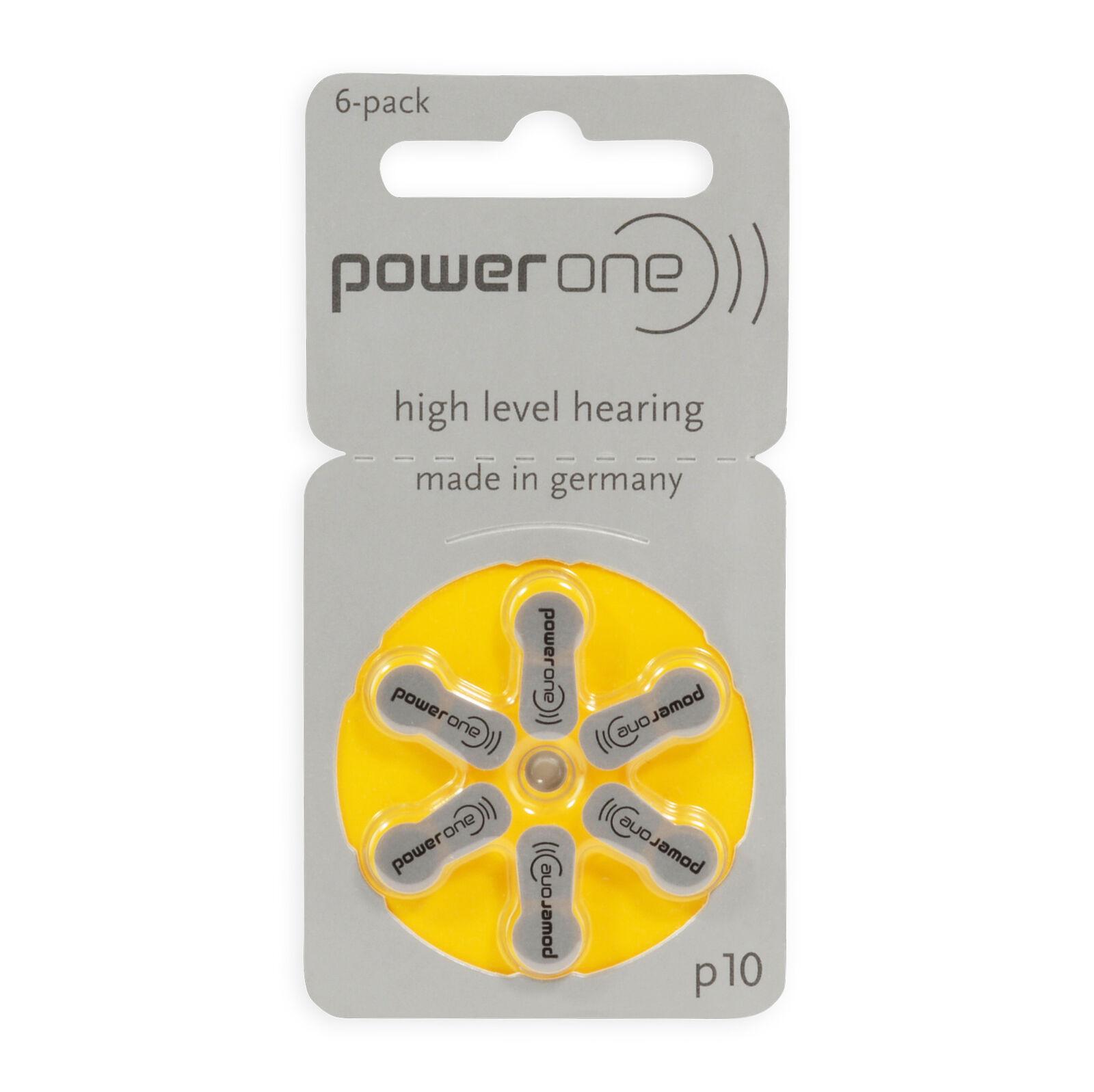 Varta Power One Hörgerätbatterien Hörgerätebatterien Hörgerät Typ ZA10 v. Menge  | Billig ideal