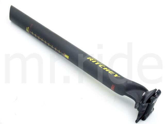 Ritchey WCS Carbon Soctt Vector Team Edition Seatpost 31.6 x 400mm 182g Black