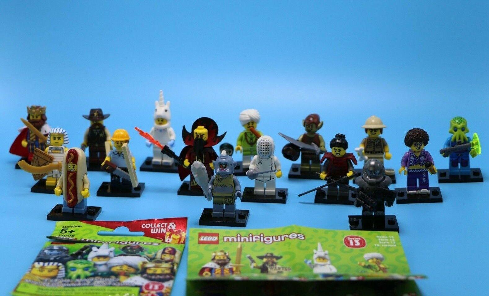 LEGO Lot Complet-Série 13-RARE-Bundle avec accessoires-Regardez attentivement