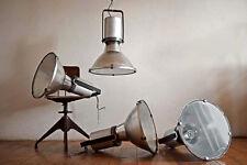 4 x große Fabriklampe Industrielampe Lampe Bauhaus industrial lamp factory Loft