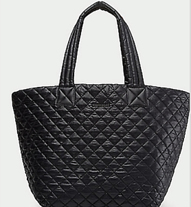 Details About Mz Wallace Medium Quilted Tote Bag Black
