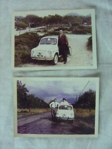 Oldtimer Fotos 1960s Fiat 500 Automobil 801