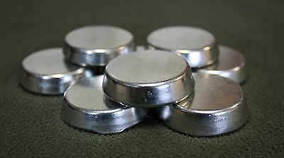 5 lbs Lead Free Pewter Metal Rounds Ingots, for Casting,  92% Tin minimum