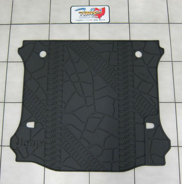 07-18 Jeep Wrangler JK Unlimited 4-Door Rubber Cargo Tray Floor Slush Mat Mopar