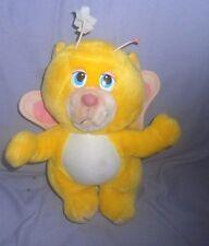 "1980's / 1985 Wuzzles - 13""  BUTTERBEAR Plush Toy - Disney / Hasbro (55)"