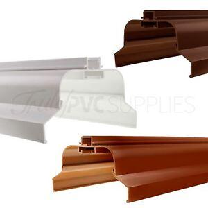 Ultraframe Conservatory Roof Ridge Cap Upvc Timber Apex Top Cover Ebay