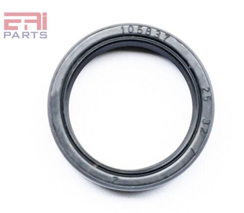 EAI Double Lip w// Spring Metal Case w// NBR Coating Oil Shaft Seal 25X32X7mm TC