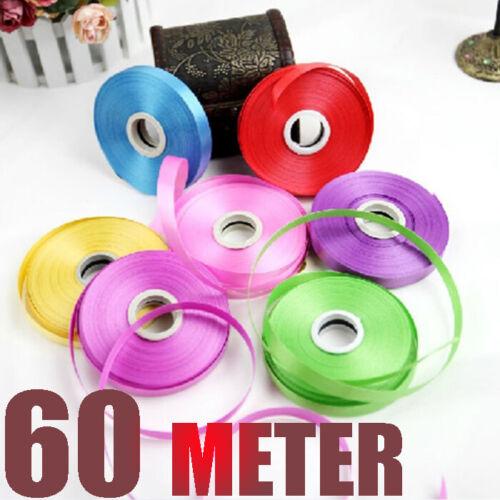 60meter Curling String Colour Ballon Ribbon Balloons Gift Wrap Decoration Fancy