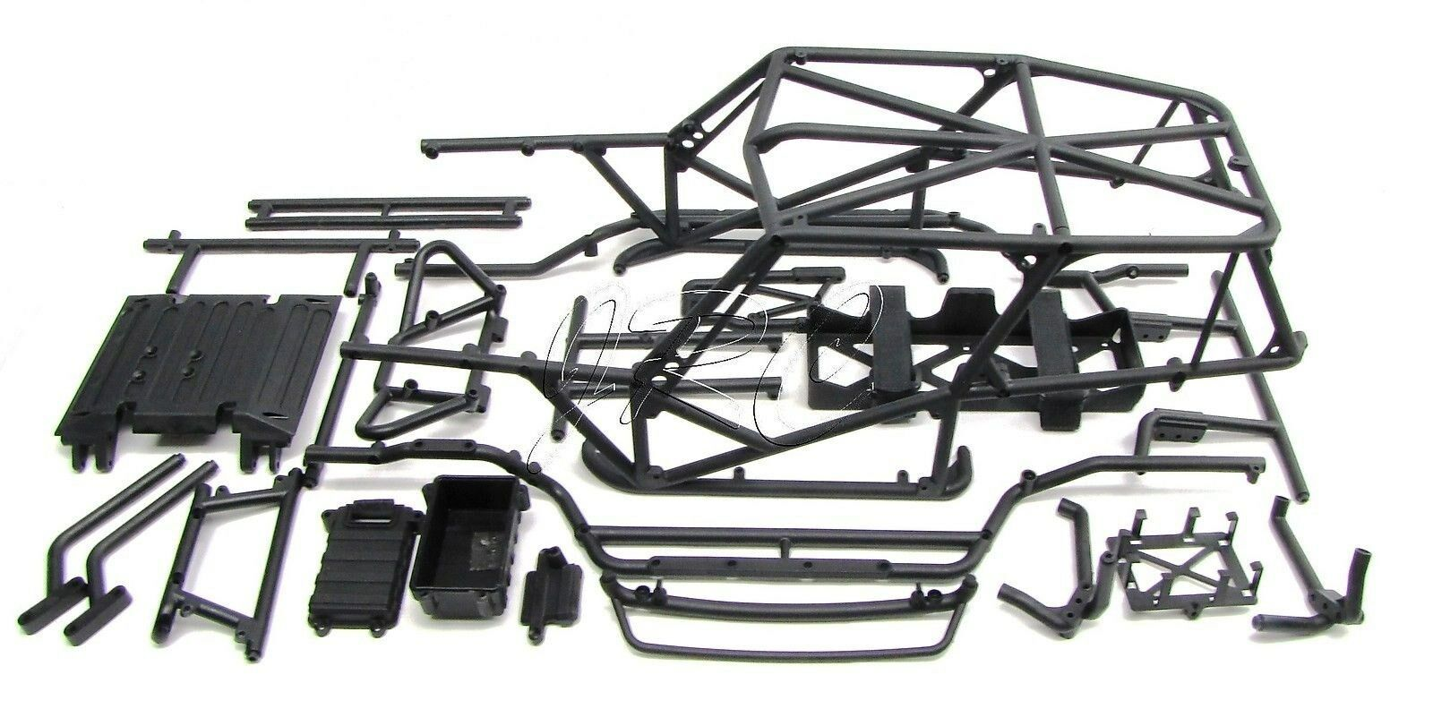 Axial Poison Spyder Wraith Main Frame & Plastic Tube Set Chassis ...