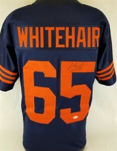 watch 8517a 7dd54 Details about Cody Whitehair Signed Chicago Bears Custom Jersey (Beckett  COA) Pro Bowl Center