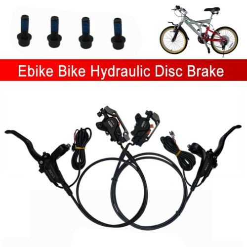 Bike Ebike Hydraulic Disc Brake SM Plug Electricty Power Control Shifter Brake