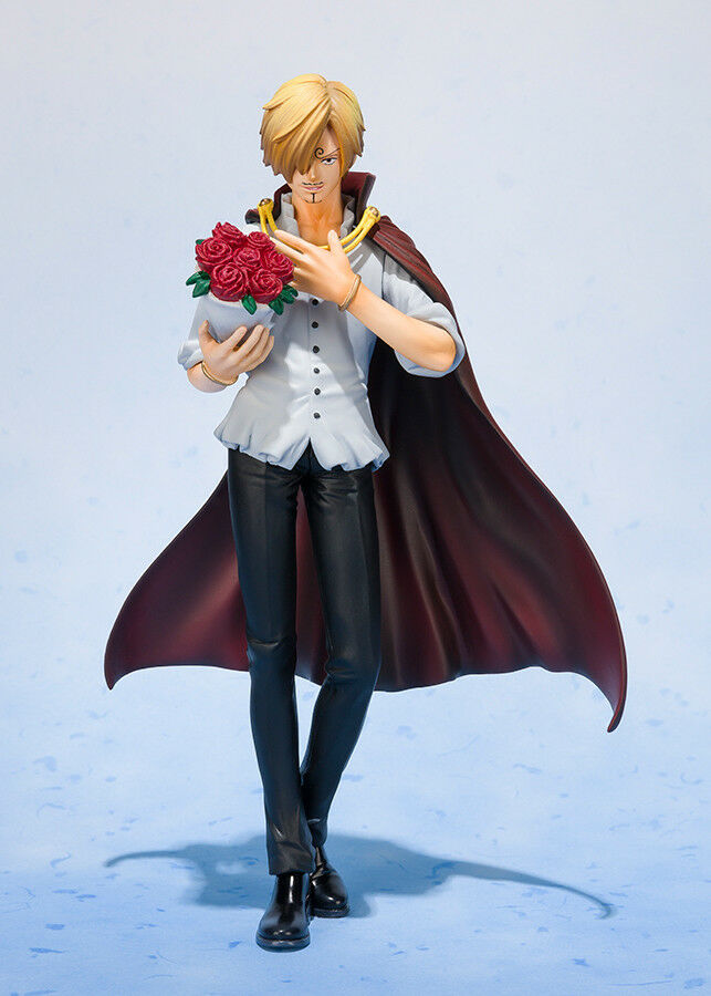 Bandai One Piece Sanji Whole Cake Island Figuarts Zero Figure