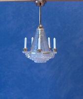 1/12, Dolls House Miniature Lighting Crystalline Chandelier Light / Lamp Lgw