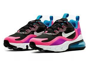 "Nike Air Max 270 réagissent ""Hyper Pink"" (GS) (BQ0101 001) jeunesse Baskets UK 5"