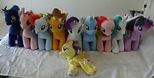 Build A Bear Plush My Little Pony Lot Mane 6 Celestia Luna Cadance UNSTUFFED