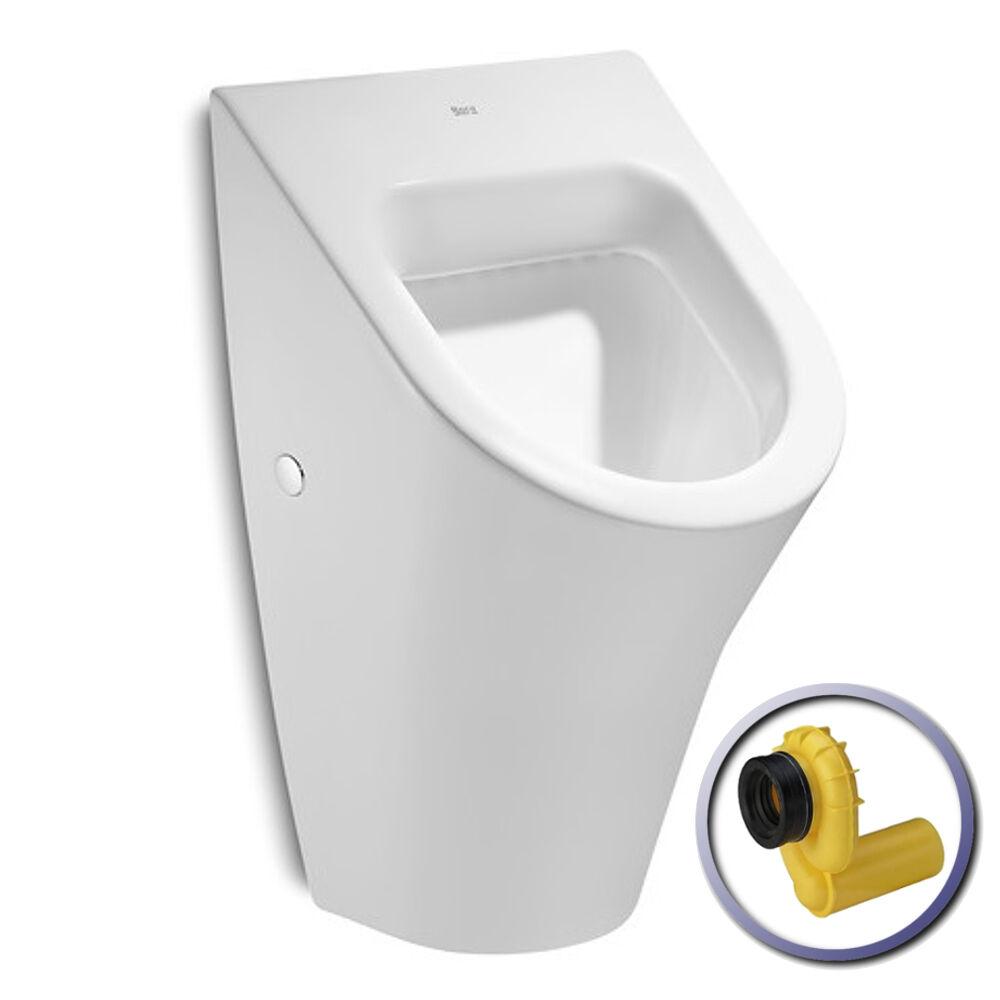 Urinal Zulauf von hinten Weiß Keramik Absaugend Ablauf VIEGA ROCA NEXO