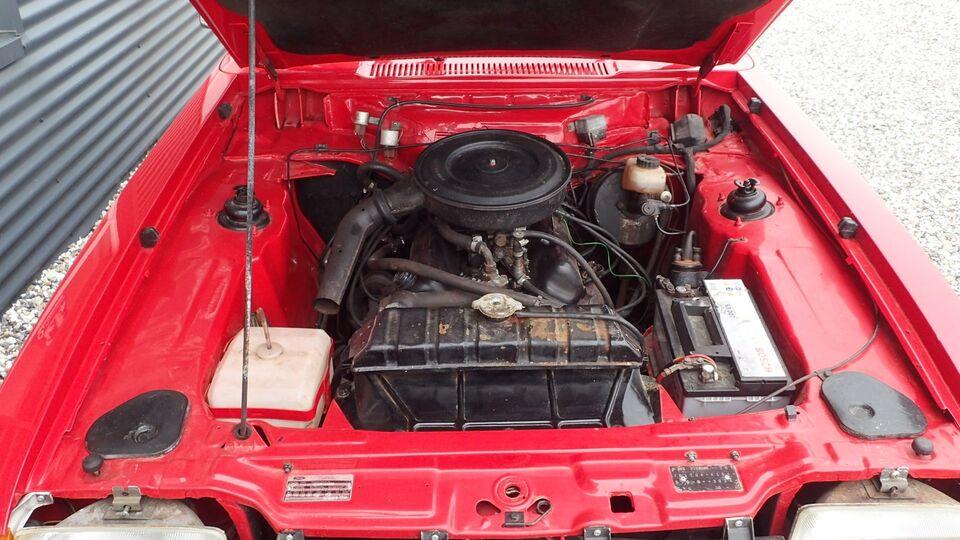 Ford Capri 2,3 GT Benzin modelår 1975 km 56000 Rød