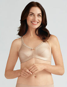 e6f2ed40ba Amoena  Rita  Non-wired Soft Bra Pocketed Mastectomy Post Surgery ...