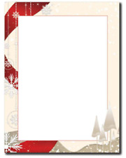 25 or 80pk Mary With Baby Jesus Religious Christmas Letterhead