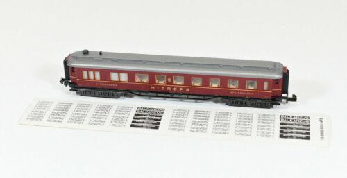 "Ep.II Art.-Nr 13118 //// AB 722 Speisewagen /""Mitropa/"" WR6ü Minitrix Spur N"