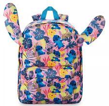 bb16a05d65961 Disney Store Lilo   Stitch Backpack Tropical Print Summer Christmas School  Bag