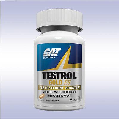 GAT TESTROL GOLD ES (60 TABLETS) testosterone tribulus sexual stamina test boost