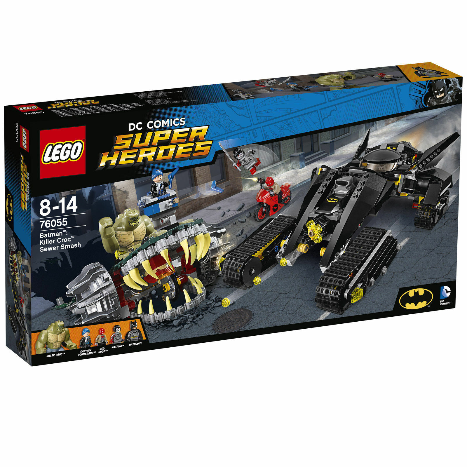 Lego Super Heroes 76055 Batman Killer Crocs Überfall in der Kanalisation NEU OVP
