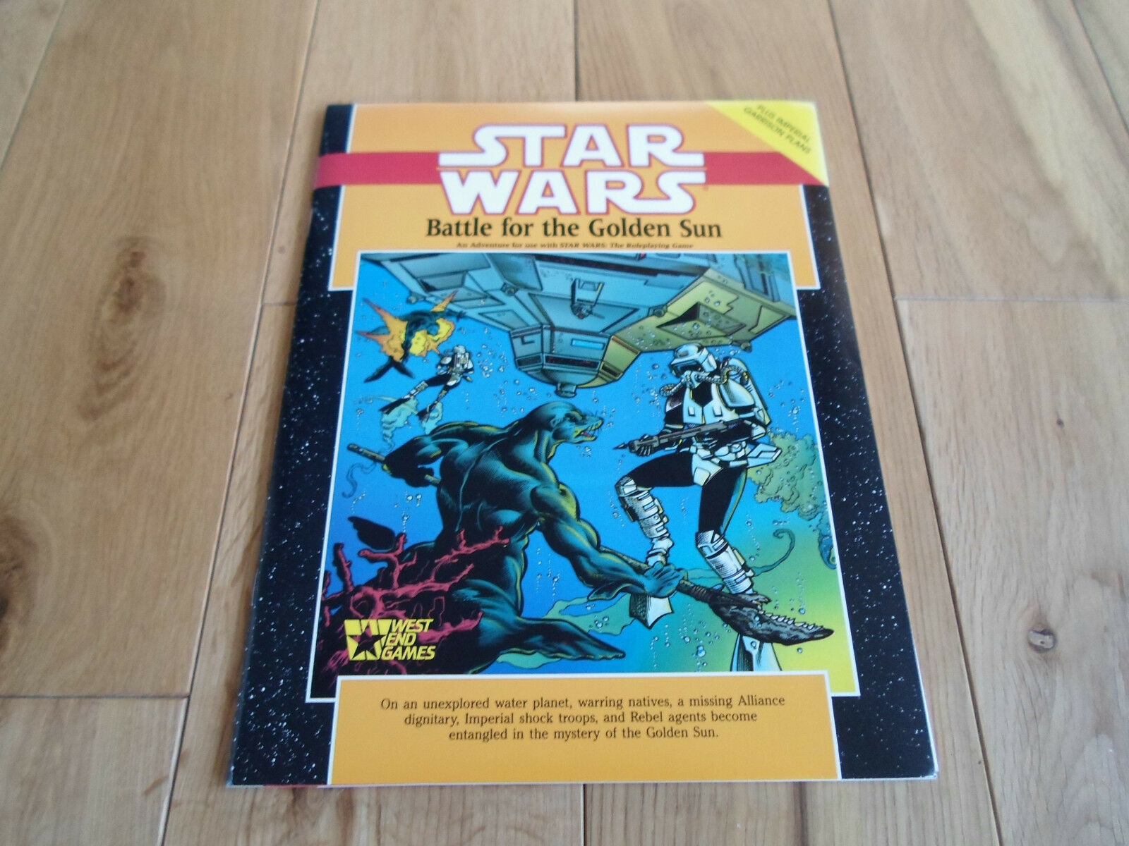 Star Wars Roleplaying Game Battle for the golden Sun Adventure (MINT)